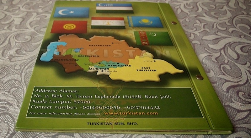 Central Asian Map