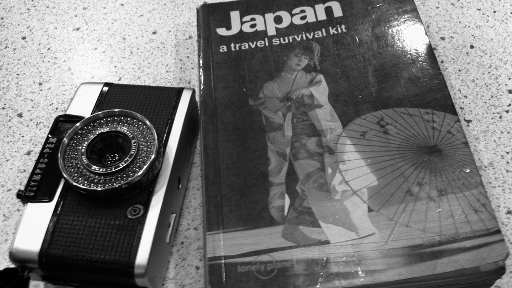 Old Lonely Planet about Japan